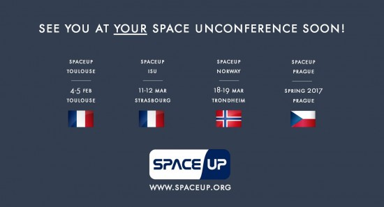 SpaceUp events 2017