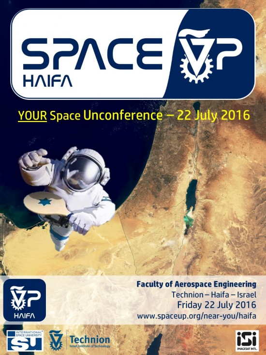 SpaceUp Haifa Official Poster