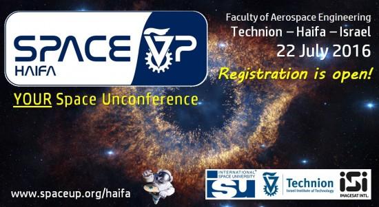 SpaceUp Haifa banner
