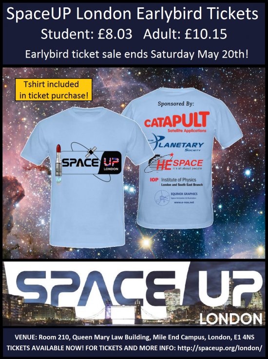 SpaceUp London - t-shirt