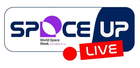 SpaceUp LIVE World Space Week 2020 Edition
